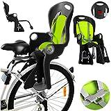 Kinder Fahrradsitz Kindersitz Fahrrad Fahrradsitz CA0060 Sicherheitssitz Fahrrad (CA0060GRN)