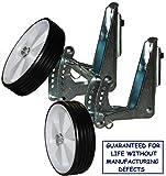 Bicycle Training Laufrad Kinderfahrrad Stützräder mit Drehschutz 10' 12' 14' 16' Patent Welt (Smart Trainings-Räder) Mit Zubehör für alle Arten von Angriffen in Fotos gemeldet. AMDA1 Rolls für Kinderfahrradmaßnahmen nach DIN: 10'12' 14'16'. Learning-System mit Doppel Anpassung der internationalen Patent Exklusiv-Vertrieb. (weiß-schwarz) SmartTWheels ist ein unzerstörbares Accessoire, das Ihr Kind schützt und Ihr Fahrrad bereichert .