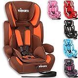 KIDUKU Autokindersitz Kindersitz Kinderautositz, Sitzschale, universal, zugelassen nach ECE R44/04, in 6 verschiedenen Farben, 9 kg - 36 kg 1-12 Jahre, Gruppe 1/2/3