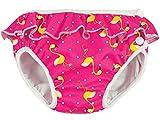 Imsevimse, Schwimmwindel, Badewindel, Aquawindel, Modell Pink Flamingo mit Rüsche