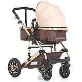 """Kinderwagen """"Florida"""", 3 in 1 Kombikinderwagen Megaset 8 teilig inkl. Babyschale, Babywanne, Sportwagen und Zubehör, zertifiziert nach der Sicherheitsnorm EN1888"""