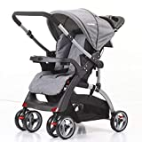 CROWN ST530 Buggy Kinderwagen DUAL-WAY Grau