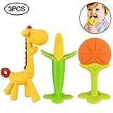Baby Beißring Baby Zahnen Spielzeug Schnuller Beißringspielzeug für Babys Kleinkinder