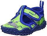 Playshoes Unisex-Kinder Badeschuhe mit UV-Schutz Robbe Aqua Schuhe, Grün (Blau/Grün 791), 20/21 EU