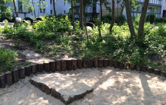 Der Bebü-Spielplatz - Grün
