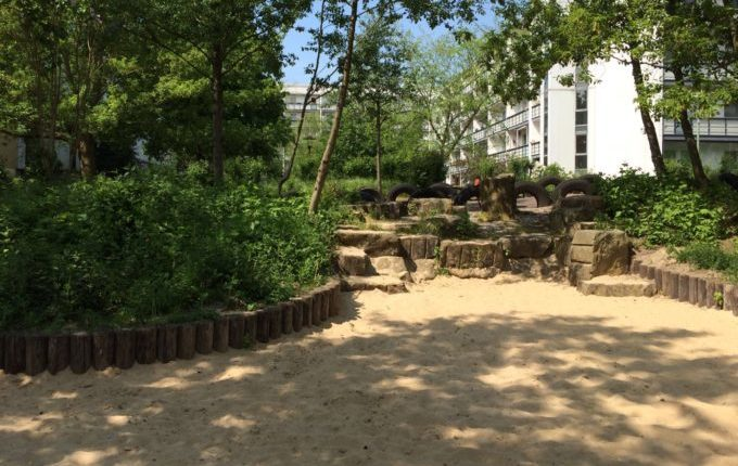 Der Bebü-Spielplatz - Sand