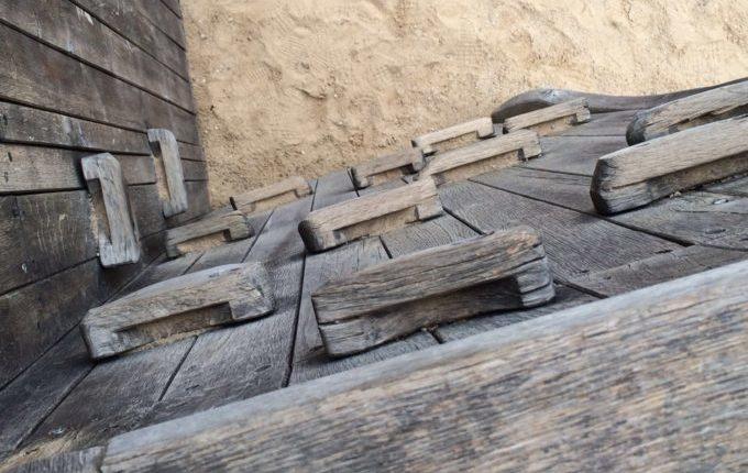 Spielplatz - Kletterwand