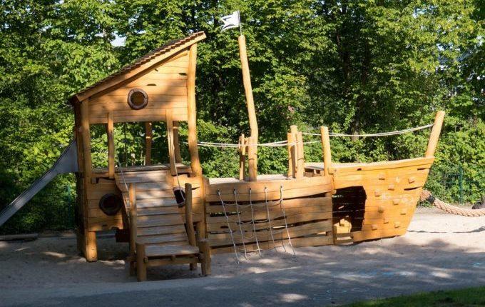 Beinahe weggeschnappt - Schiff-Spielplatz