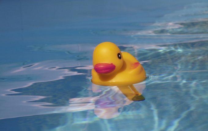 Babyschwimmen - Quietscheentchen