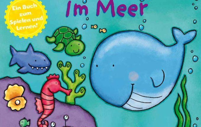 Im Meer - Zieh- und Schiebebuch