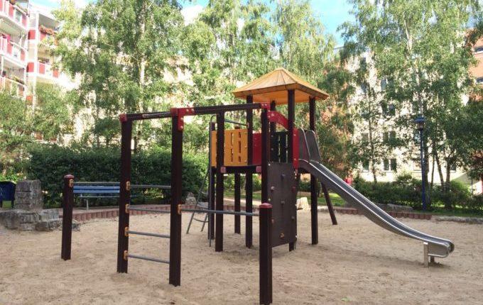 Spielplatz in der Louis-Lewin-Straße
