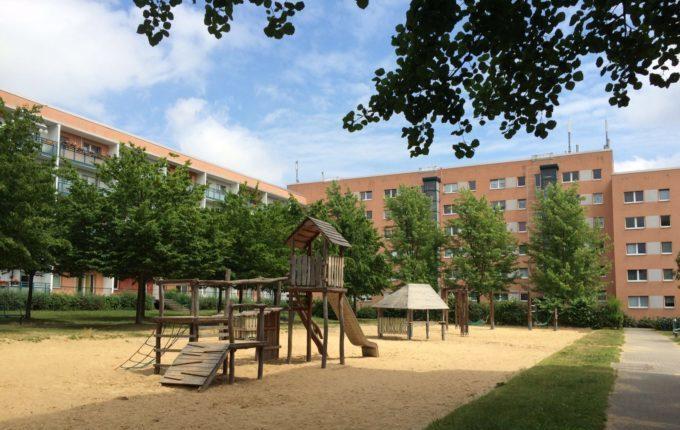 Spielplatz Schönburger Straße in Berlin Hellersdorf
