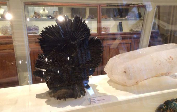 Besuch im Naturkundemuseum Berlin - Vivianit