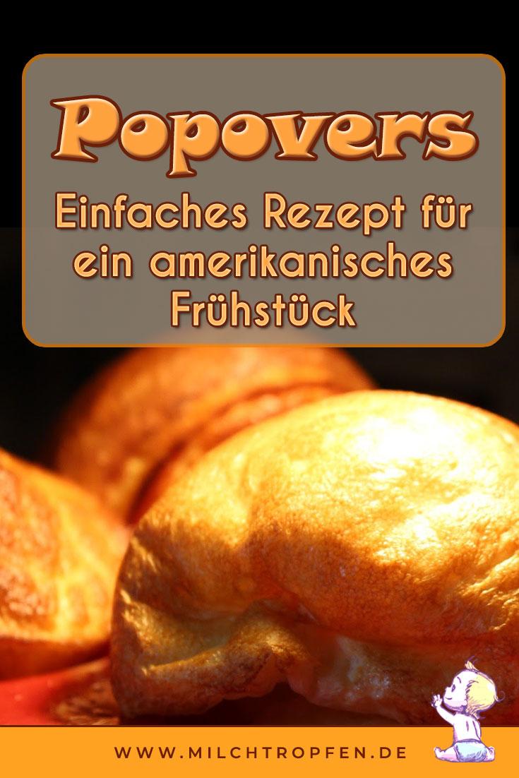 Popovers - Einfaches Rezept für ein amerikanisches Frühstück | Mehr Infos auf www.milchtropfen.de