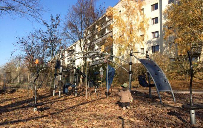 Spielplatz in der Suhler Straße