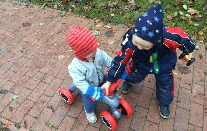 Testbericht mit Verlosung BIG Rider - Kinder auf und am Lauffahrzeug