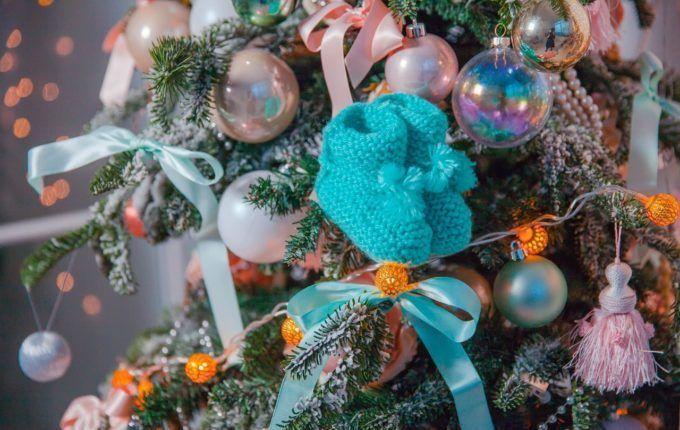 Kein Geld für Weihnachtsgeschenke - gestrickte Söckchen
