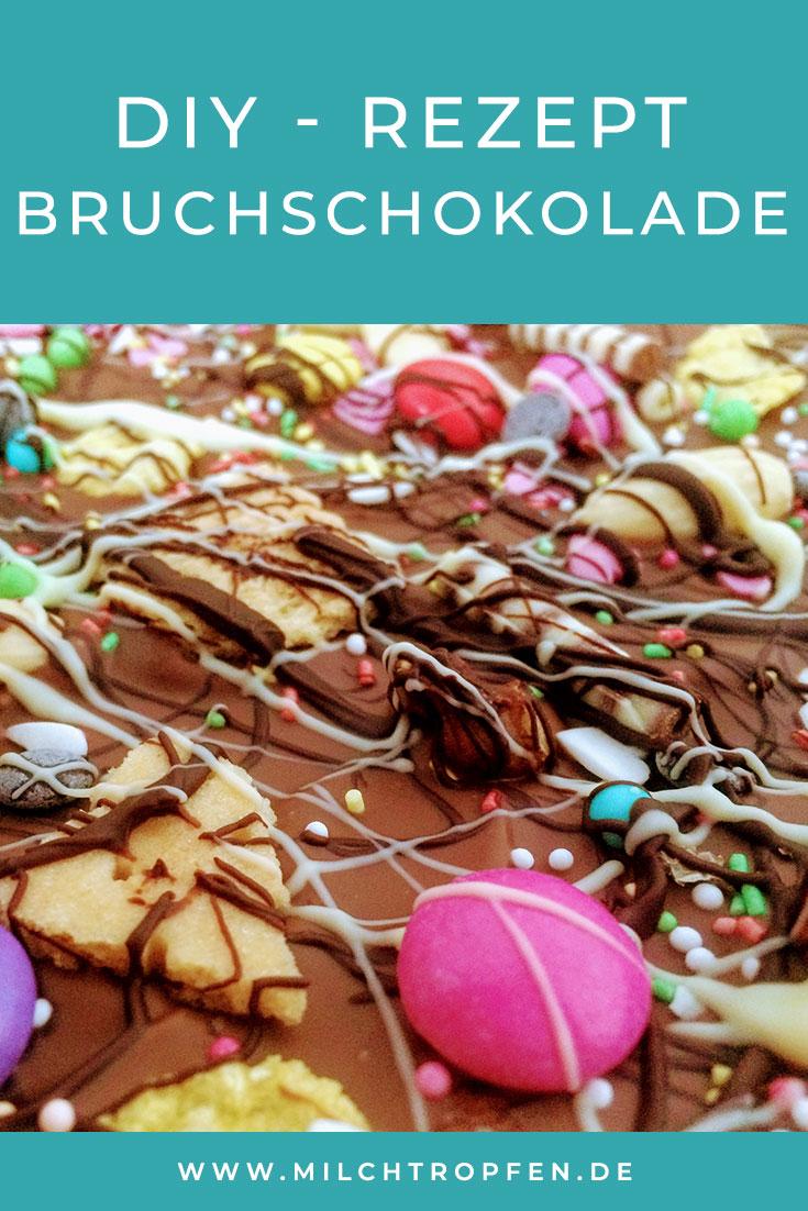 Rezept - Bruchschokolade | Mehr Infos auf www.milchtropfen.de