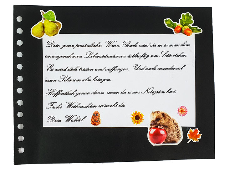 Wenn Buch Einleitungstext | Mehr Infos auf www.milchtropfen.de