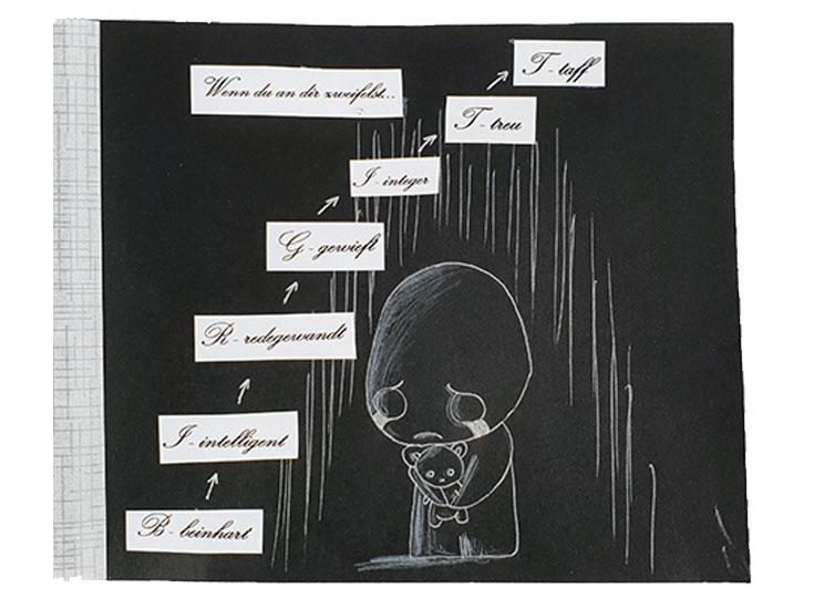 Wenn Buch Spruch: Wenn du an dich zweifelst... | Noch mehr Sprüche findest du auf www.milchtropfen.de