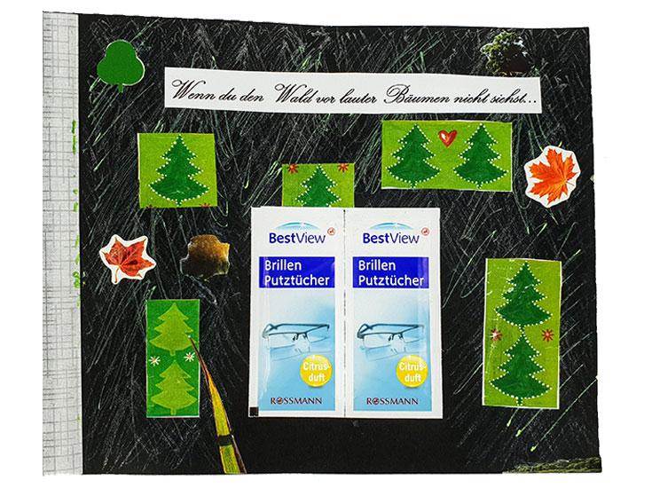 Wenn Buch Spruch: Wenn du den Wald vor lauter Bäumen nicht siehst... | Noch mehr Sprüche findest du auf www.milchtropfen.de