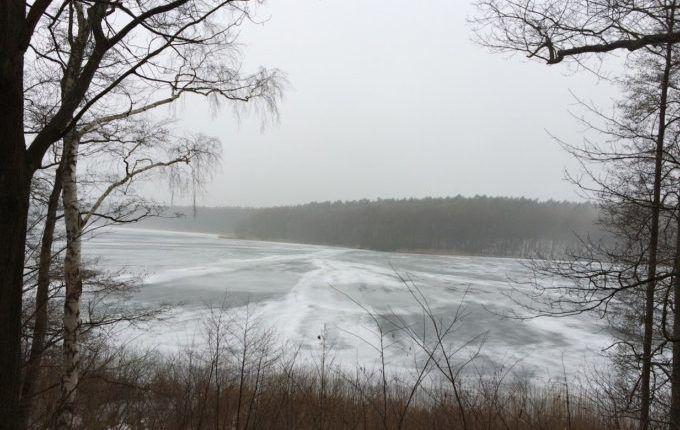 Einmal um den Fängersee - Blick auf den Fängersee