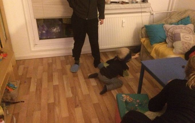 Silvester mit Kindern feiern - Topfschlagen