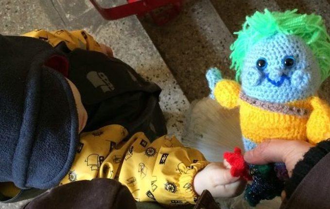 12 von 12 - Februar 2017 - Kind mit Nixe