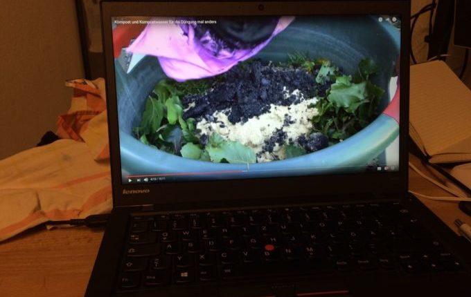 12 von 12 - Februar 2017 - Video über Kompost