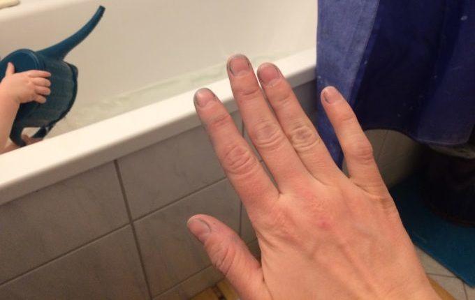 Die nicht-newtonsche Flüssigkeit - fast saubere Hände