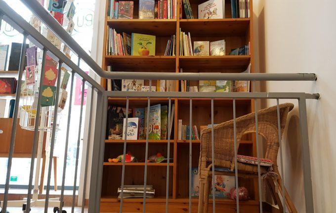 Kindercafé Sonnenkind - Bücherecke