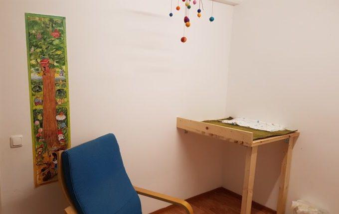 Kindercafé Sonnenkind - Wickelbereich