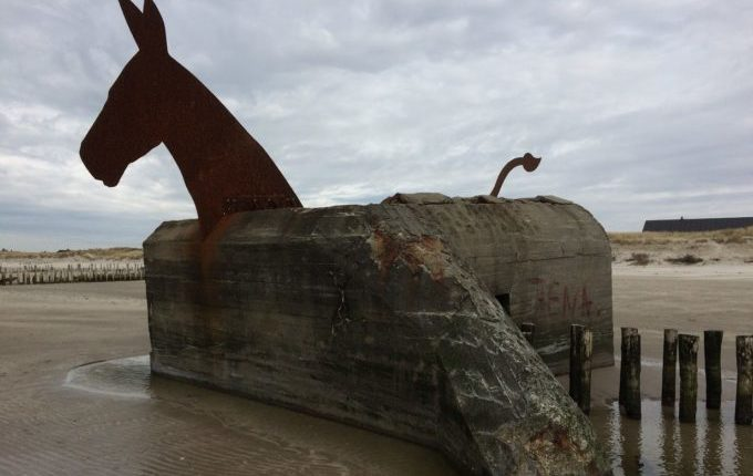 12 von 12 - März 2017 - Bunkerpferd, Pferdebunker