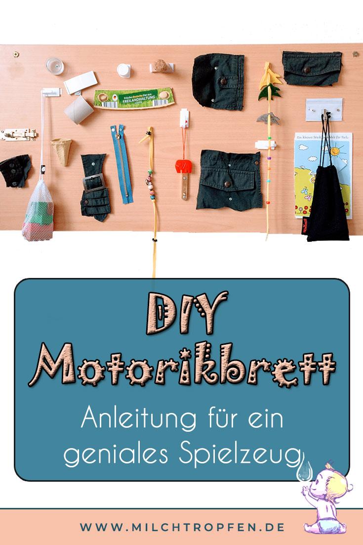 DIY Motorikbrett - Anleitung für ein geniales Spielzeug