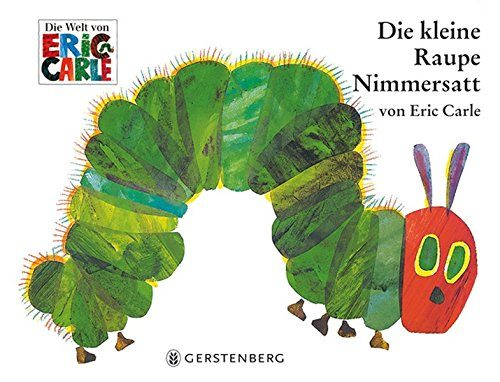 Die kleine Raupe Nimmersatt oder The Very Hungry Caterpillar-min