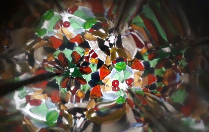 Kaleidoskop - Blick durch das Guckloch