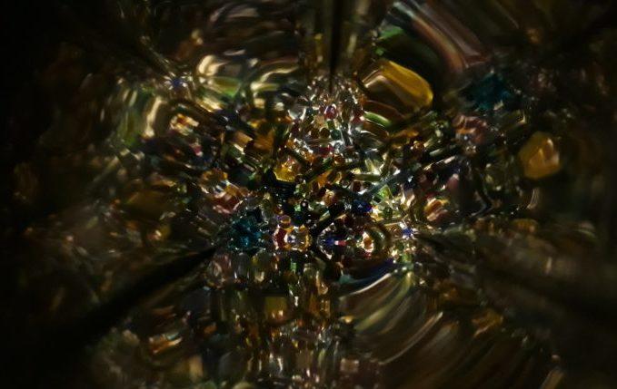 Kaleidoskop - Blick durchs Guckloch