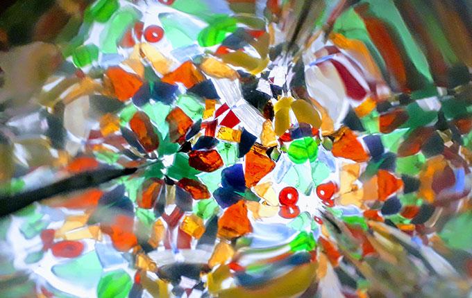 Kaleidoskop von innen