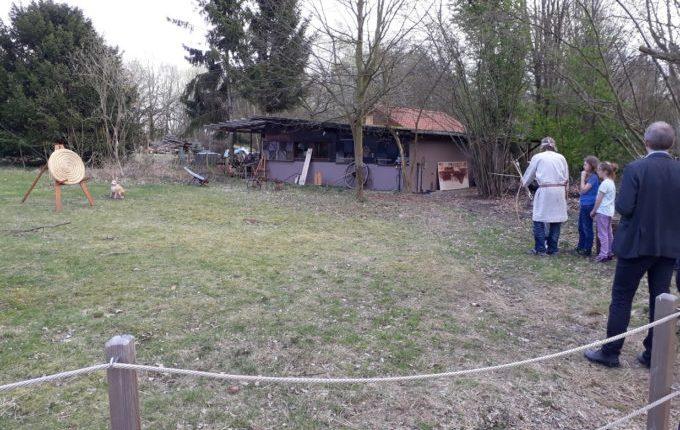 Museumsdorf Düppel - Bogenschießen