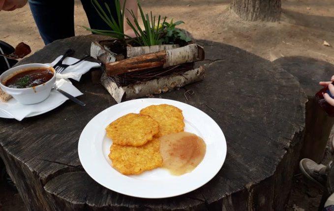 Museumsdorf Düppel - Kartoffelpuffer, Rindergulasch und Bionade