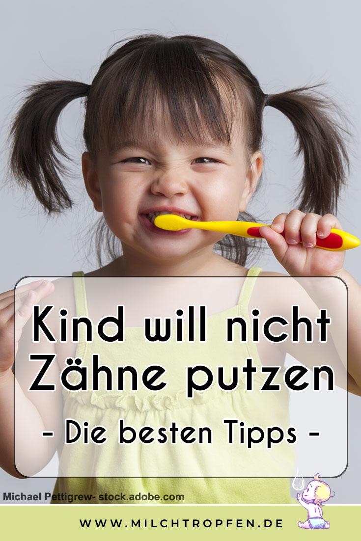 Kind will nicht Zähne putzen - Die besten Tipps | Mehr Infos auf www.milchtropfen.de