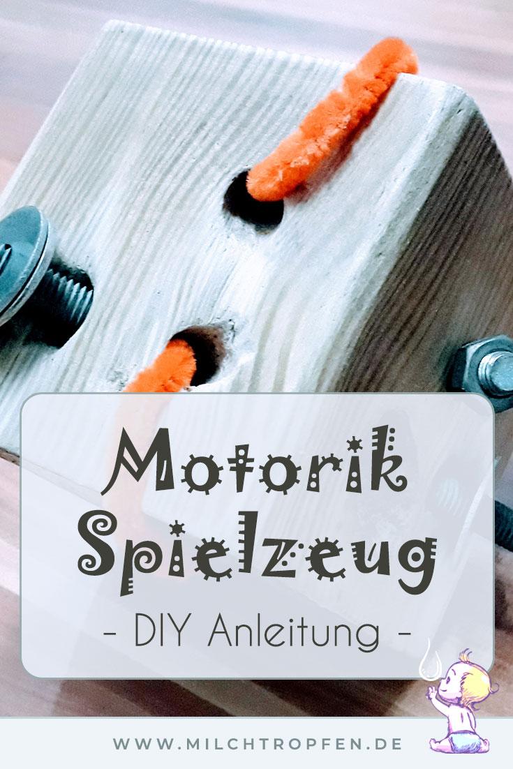 Motorik Spielzeug - DIY Anleitung | Mehr Infos auf www.milchtropfen.de