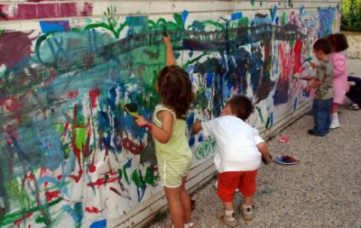 Mein Kind malt gern (an den Wänden)