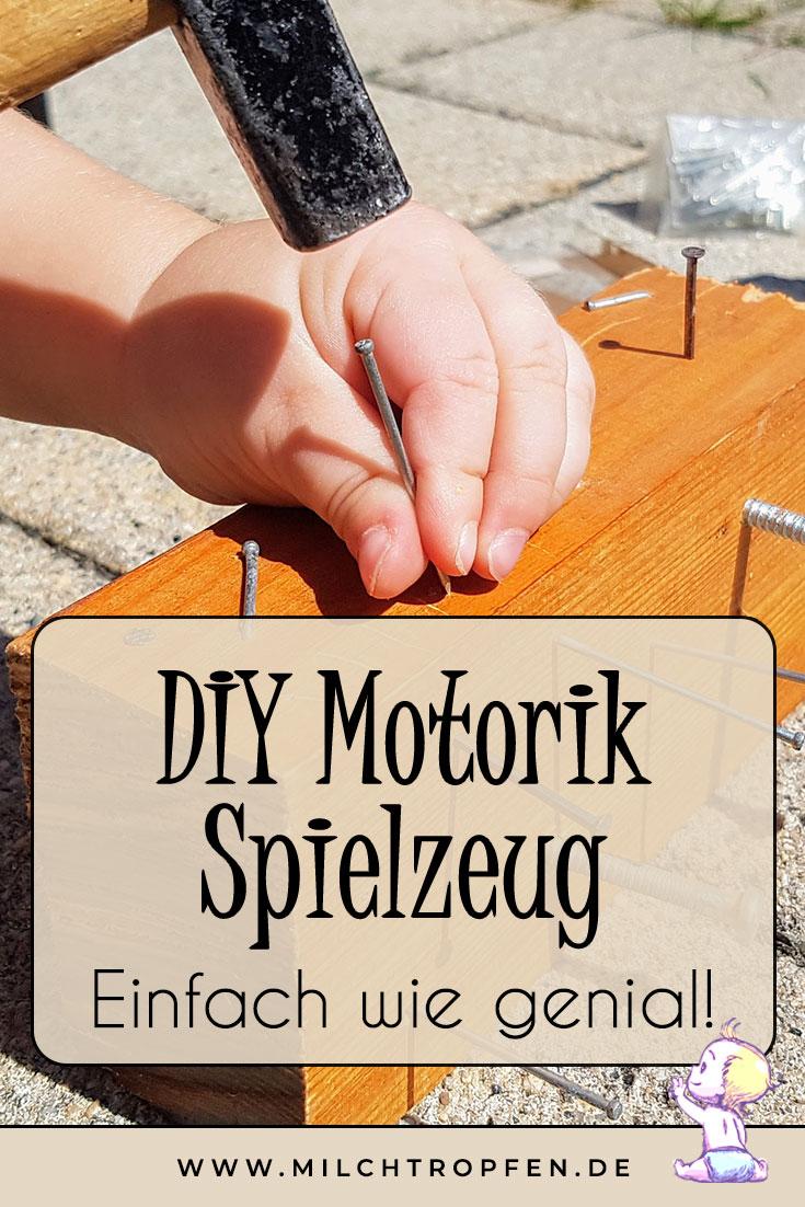 DIY Motorik Spielzeug - Einfach wie genial! | Mehr Infos auf www.milchtropfen.de