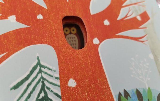 Der Baum der Jahreszeiten - Eule sitzt im Baum