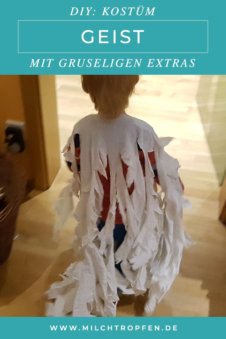 ᐅ Halloween Kostüm Geist Für Kinder Selber Machen