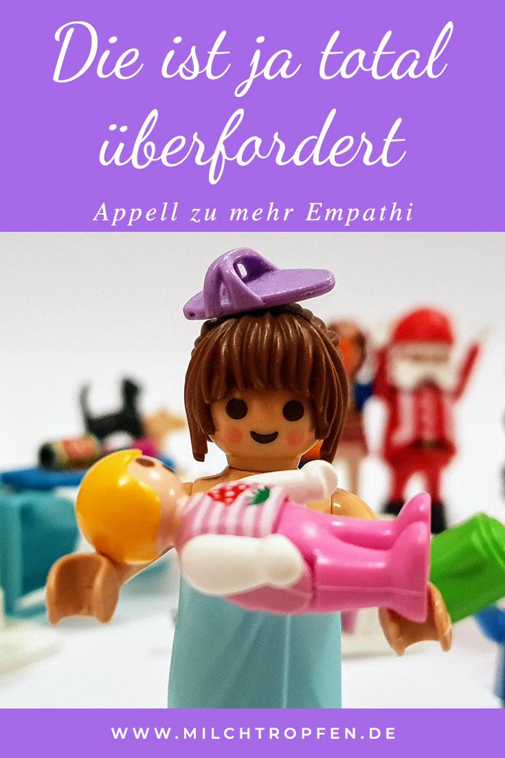 Die ist ja total überfordert - Appell zu mehr Empathi | Mehr Infos auf www.milchtropfen.de