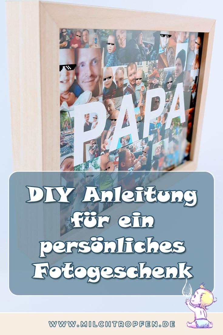 DIY Anleitung für ein persönliches Fotogeschenk | Mehr Infos auf www.milchtropfen.de
