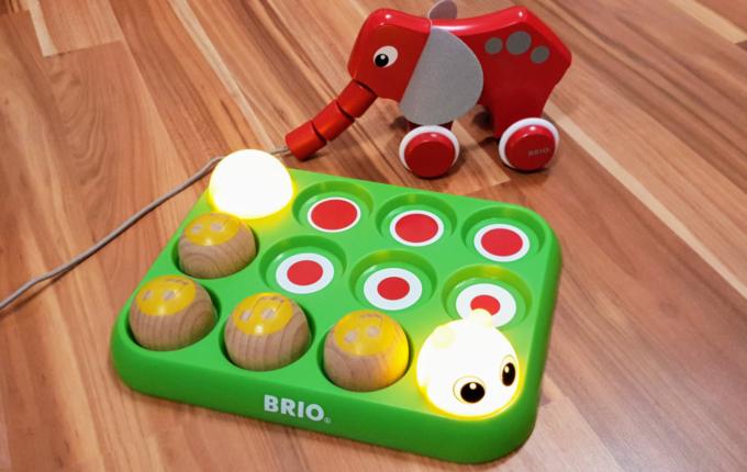 BRIO® Musikspiel-Raupe und Nachzieh-Elefant
