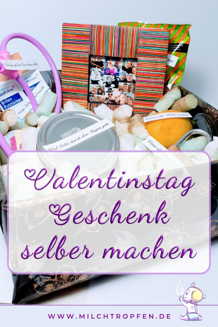 Valentinstag Geschenk selber machen | Mehr Infos auf www.milchtropfen.de